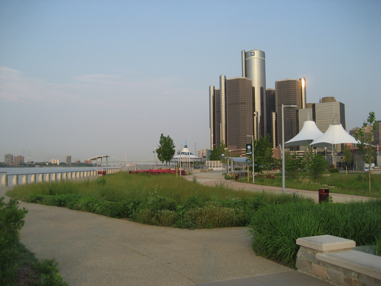 Memorial Day Walk – Downtown Detroit  Urban Living Update